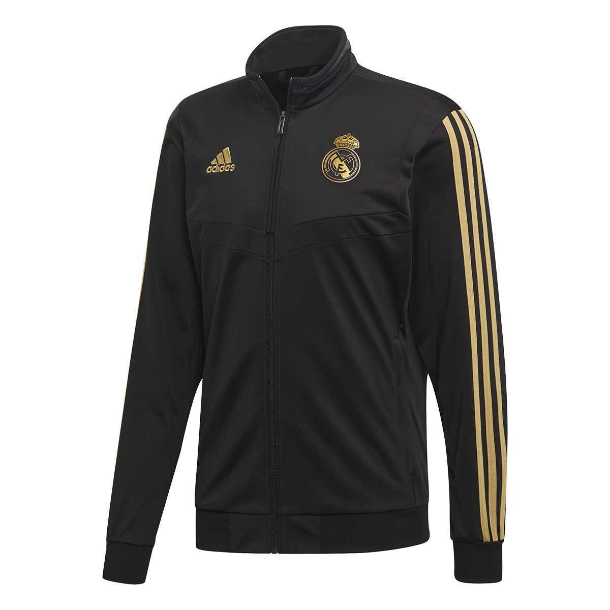 414ab00f0 Tracksuit adidas Real Madrid PES 2019-2020 Black-Dark football gold -  Football store Fútbol Emotion