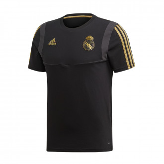 Maillot  adidas Real Madrid 2019-2020 Black-Dark football gold