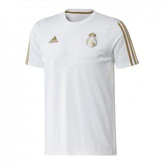 Camiseta adidas Real Madrid 2019-2020 White-Dark football gold