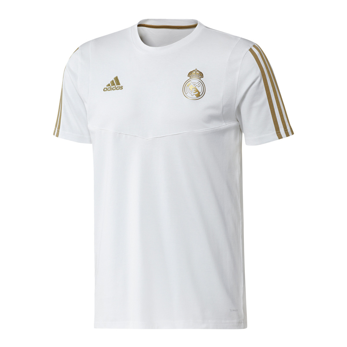 new product a9426 0f107 Camiseta Real Madrid 2019-2020 White-Dark football gold