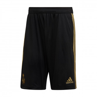Short  adidas Real Madrid Training 2019-2020 Black-Dark football gold