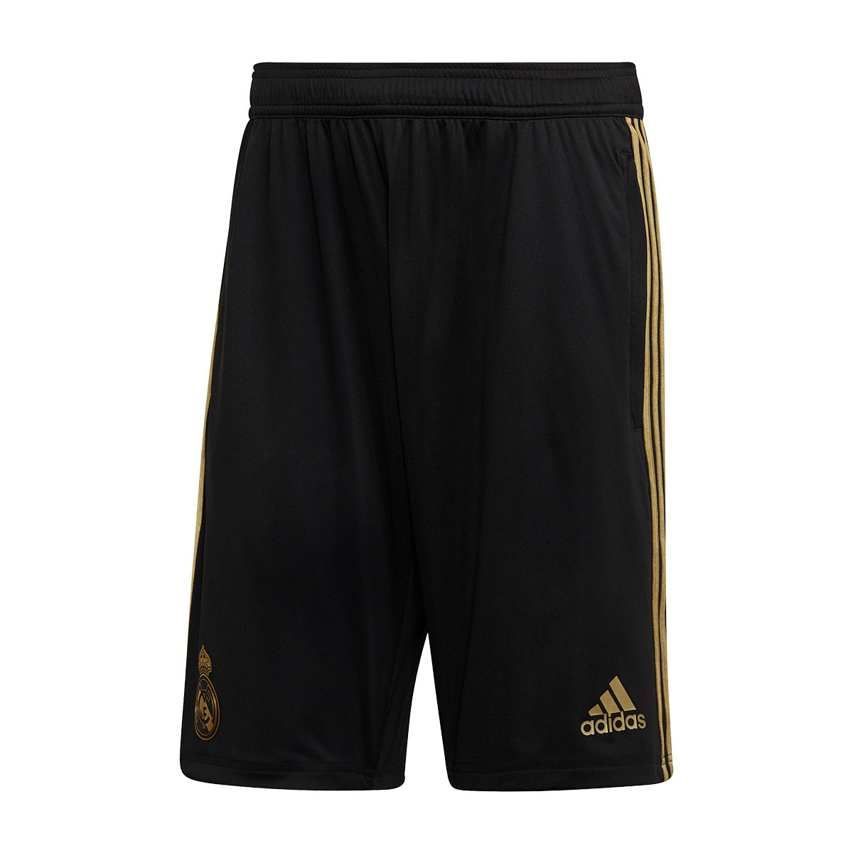 Madrid Football Gold Training Pantalón 2020 Dark Corto 2019 Real Black htQsrd