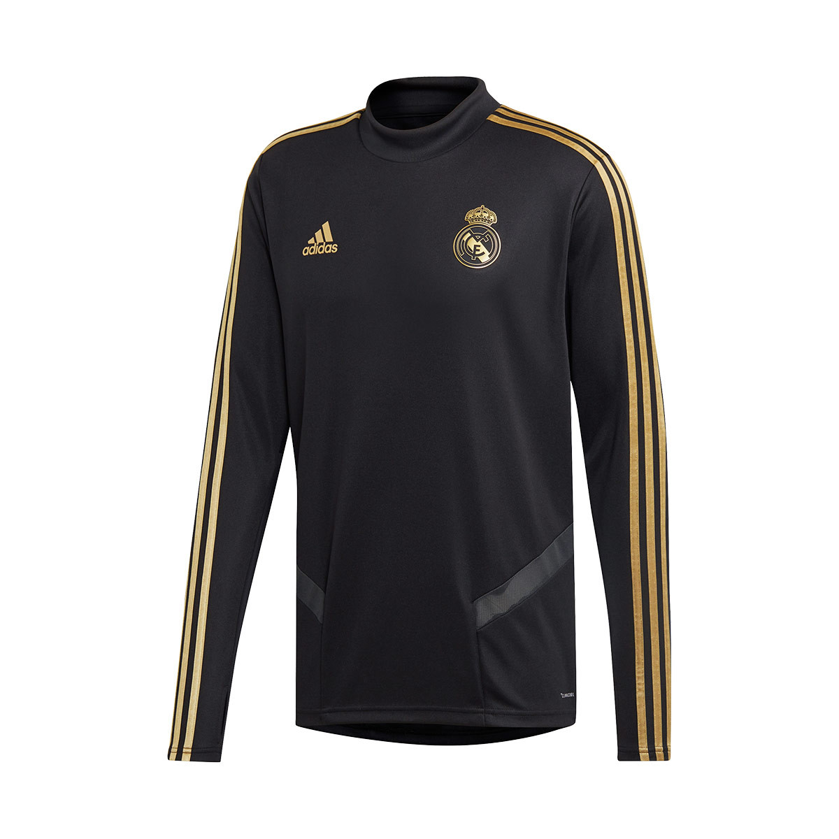 Madrid 2019 Black Real Training Gold Football Dark 2020 Sudadera vbfyg76Y