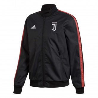 Chaqueta  adidas Juventus Anthem 2019-2020 Black-Turbo
