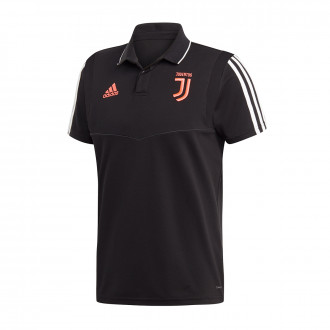 Polo shirt  adidas Juventus 2019-2020 Black-Dark grey