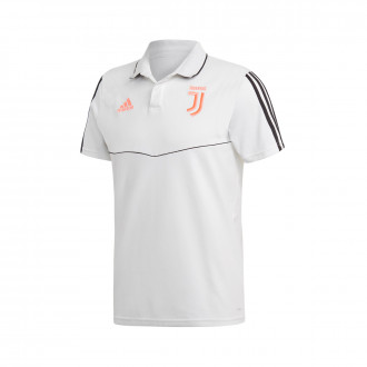 Polo shirt  adidas Juventus 2019-2020 White-Black