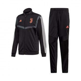 Conjunto pants  adidas Juventus PES 2019-2020 Black-Dark grey