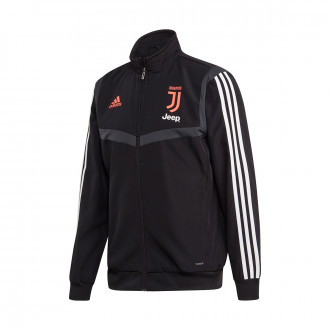 Jacket  adidas Juventus Pre Match 2019-2020 Black-Dark grey