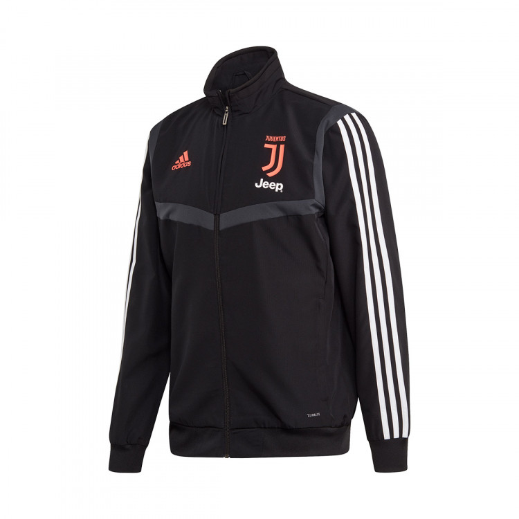 Chaqueta Juventus Dark Black Match 2020 Grey Pre 2019 0O8wnPk
