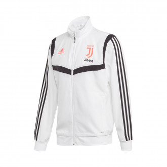 Jacket  adidas Juventus Pre Match 2019-2020 White-Black