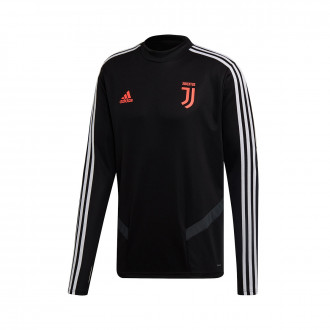 Sweatshirt  adidas Juventus Training Top 2019-2020 Black-Dark grey