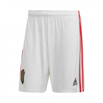Short  adidas Manchester United FC Domicile 2019-2020 White