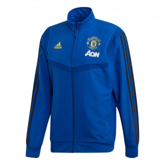 Veste  adidas Manchester United FC Pre Match 2019-2020 Collegiate royal-Black