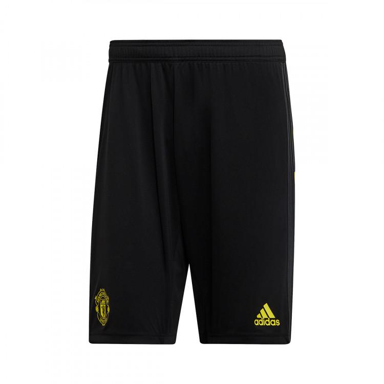tout neuf 70b95 9759f Pantalón corto Manchester United FC Training 2019-2020 Black-Solid grey