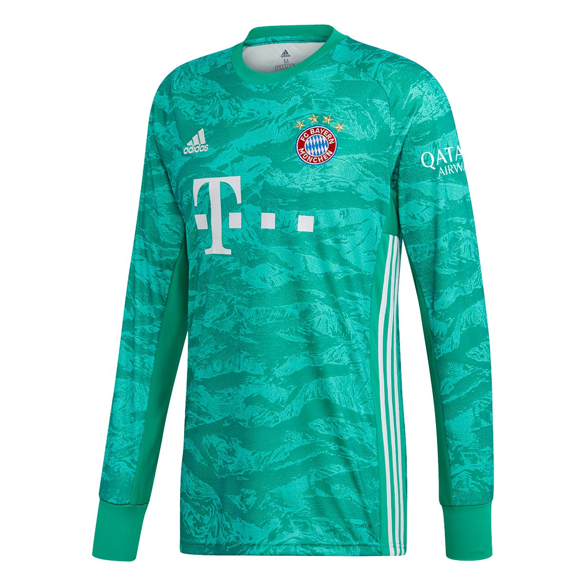 Jersey Adidas Bayern Munich Goalkeeper 2019 2020 Home Core Green Football Store Futbol Emotion