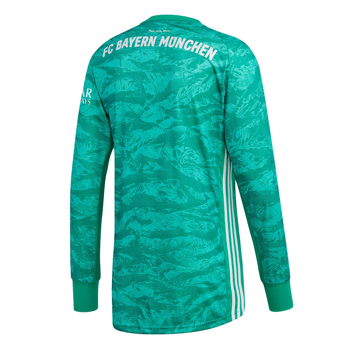 adidas Bayern Munich Goalkeeper 2019 2020 Home Jersey