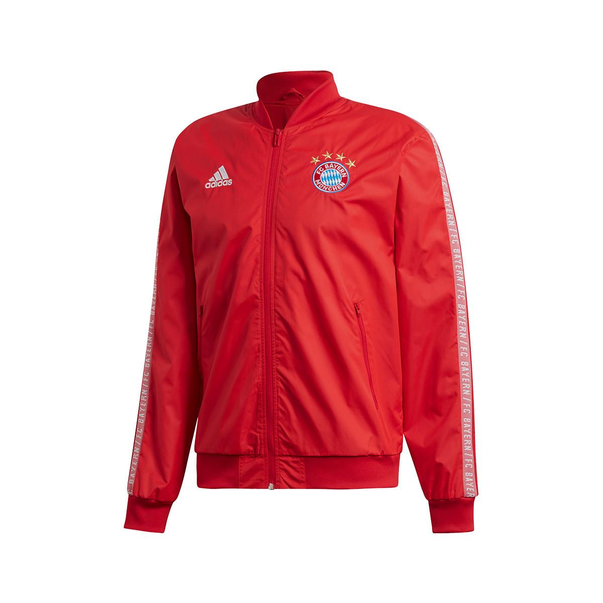 White True Red Bayern Chaqueta Anthem 2020 2019 Munich cF1JTlK