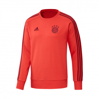 Felpa  adidas Bayern Munich Sweat 2019-2020 Bright red-Active maroon