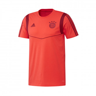 Camiseta  adidas Bayern Munich 2019-2020 Bright red-Active maroon