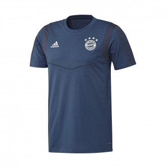 Camiseta  adidas Bayern Munich 2019-2020 Night marine-Trace blue