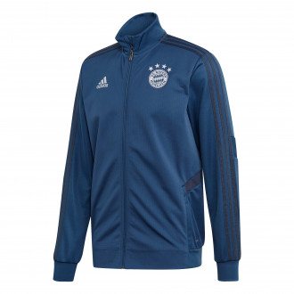 Jacket  adidas Bayern Munich Training 2019-2020 Night marine-Trace blue