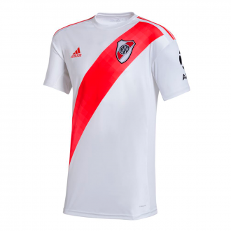 Camiseta adidas River Plate Primera Equipación 2019-2020 White-Power red