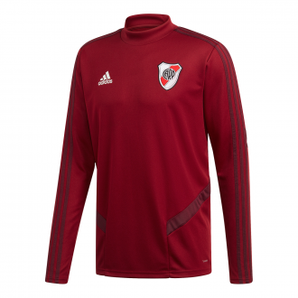 Sudadera adidas River Plate Training 2019-2020 Collegiate burgundy