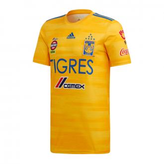 Maillot adidas Tigres Domicile 2019-2020 Collegiate gold-Blue