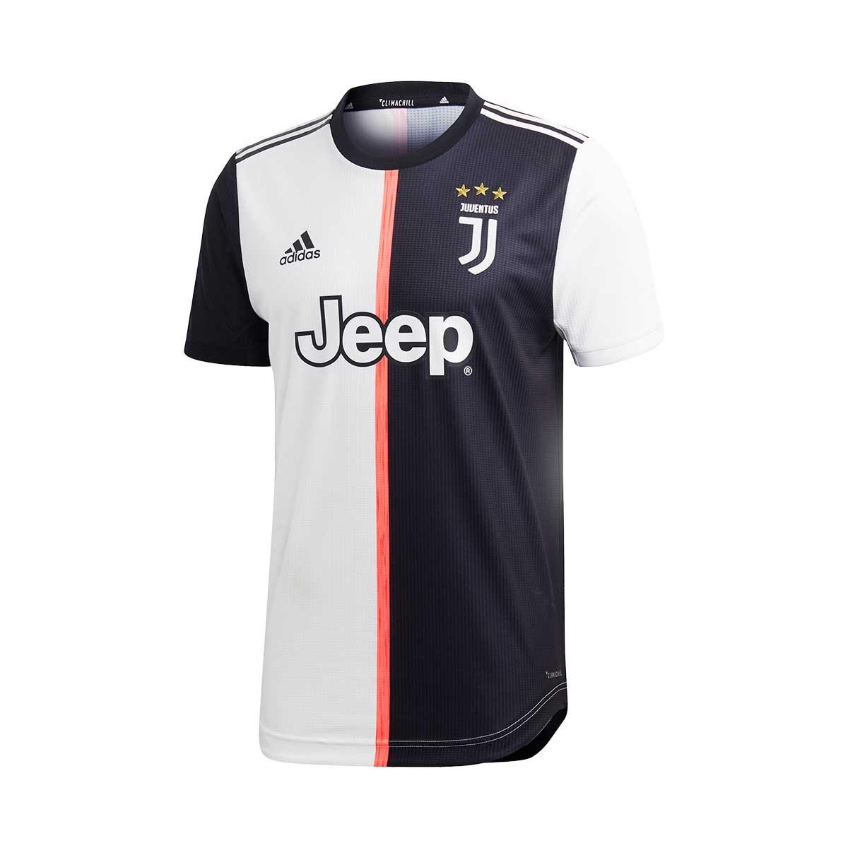 promo code c86e2 25b1e Camiseta Juventus Authentic Primera Equipación 2019-2020 Black-White