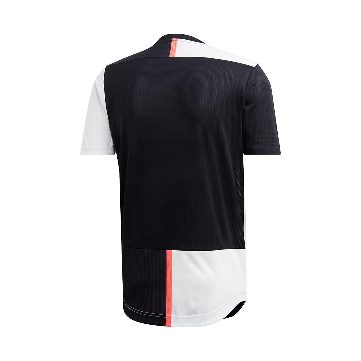 promo code 553a3 93dbb Camiseta Juventus Authentic Primera Equipación 2019-2020 Black-White