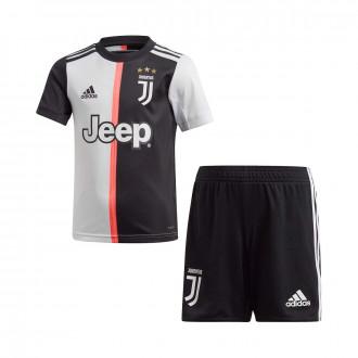 Conjunto adidas Mini Juventus Primera Equipación 2019-2020 Black-White