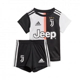Conjunto  adidas Bebe Juventus Primera Equipación 2019-2020 Black-White