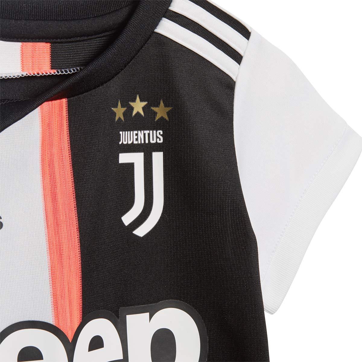 the latest eafcf dc397 Conjunto Bebe Juventus Primera Equipación 2019-2020 Black-White