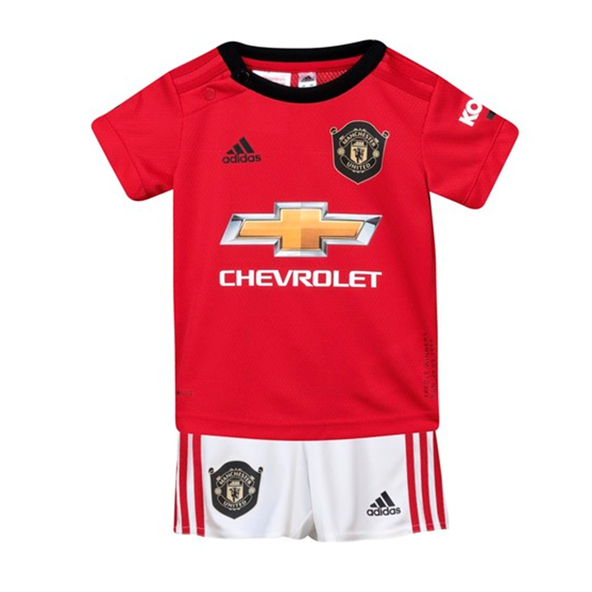 c00c646aa Kit adidas Bebe Manchester United FC 2019-2020 Home Real red-White ...