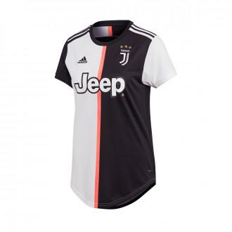 Camiseta  adidas Juventus Primera Equipación 2019-2020 Mujer Black-White