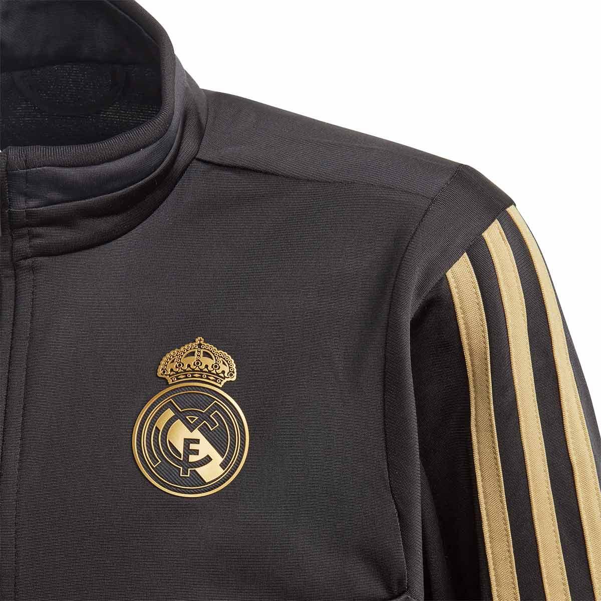 apelación Invalidez Melodrama  Chándal adidas Real Madrid PES 2019-2020 Niño Black-Dark football gold -  Tienda de fútbol Fútbol Emotion