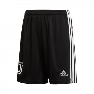 Calções  adidas Juventus Primera Equipación 2019-2020 Niño Black-White