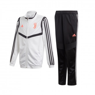 Tracksuit  adidas Juventus PES 2019-2020 Niño White-Black