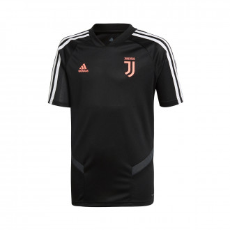 Camiseta adidas Juventus Training 2019-2020 Niño Black-Dark grey