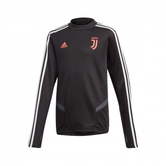 Sweatshirt  adidas Juventus Training Top 2019-2020 Niño Black-Dark grey
