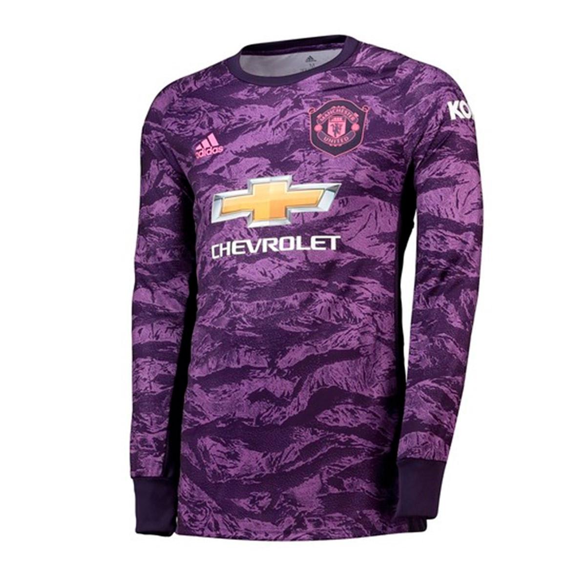 f8b7ef13 Camiseta Manchester United FC Portero Primera Equipación 2019-2020 Niño  Legend purple