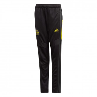 Pantalon  adidas Manchester United FC Training 2019-2020 enfant Black-Solid grey