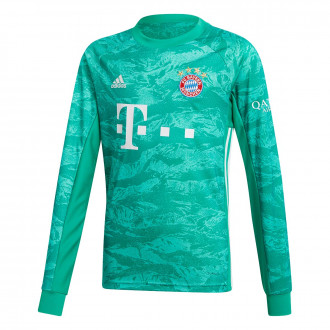 Jersey  adidas Kids Bayern Munich Goalkeeper 2019-2020 Home Core green