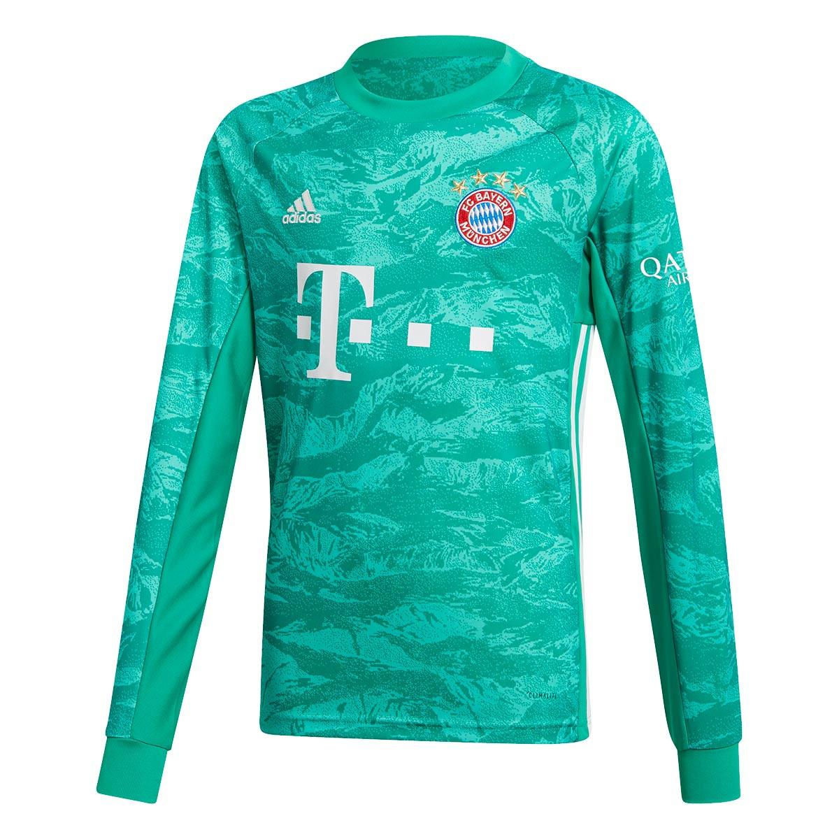 super popular 65159 f9790 Camiseta Bayern Munich Portero Primera Equipación 2019-2020 Niño Core green