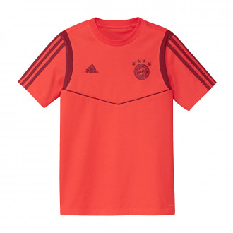 Camiseta  adidas Bayern Munich 2019-2020 Niño Bright red-Active maroon