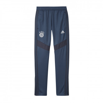 Long pants   adidas Kids Bayern Munich Training 2019-2020  Night marine-Trace blue