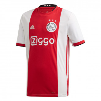 Maillot adidas Ajax FC Domicile 2019-2020 enfant Bold red-White-Black