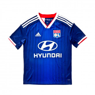 Jersey  adidas Kids Olympique Lyon 2019-2020 Away Dark blue