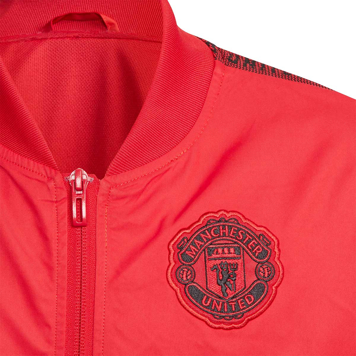 a01adc26 Chaqueta Manchester United FC Anthem 2019-2020 Niño Real red/black