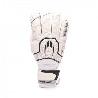 Guanti HO Soccer Basic Protek Flat Whiteout